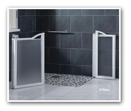 S r habitat vous tes un particulier douches carrel es - Porte douche a l italienne ...
